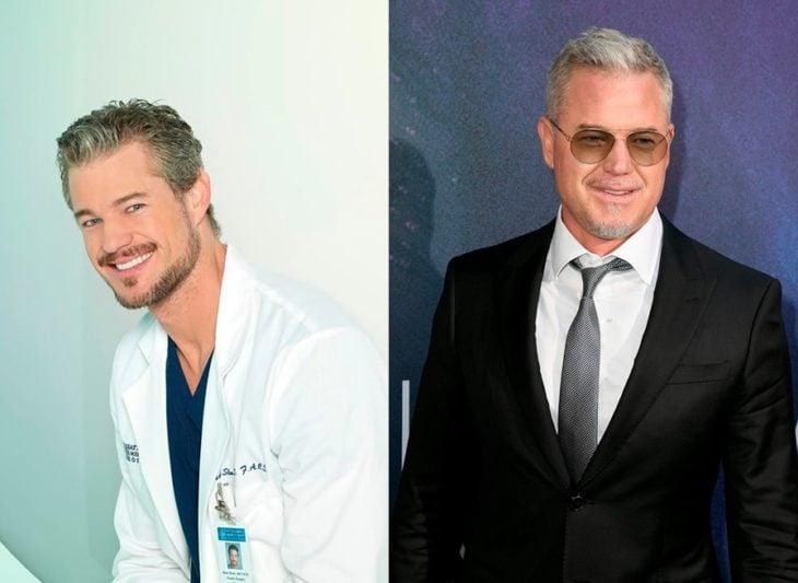 Antes y después de Mark Sloan