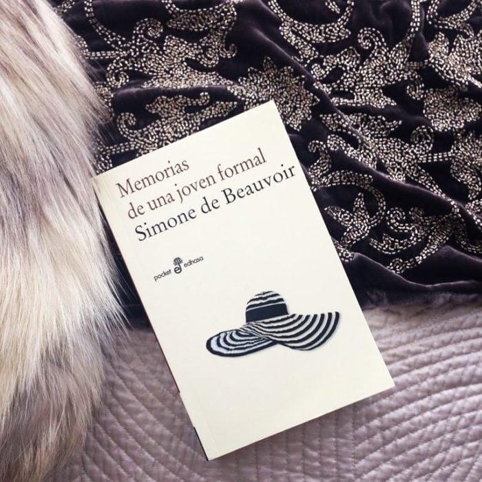 Libro Memorias de una joven formal de Simone de Beauvoir
