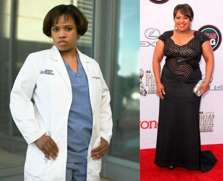 Antes y después de Miranda Bailey