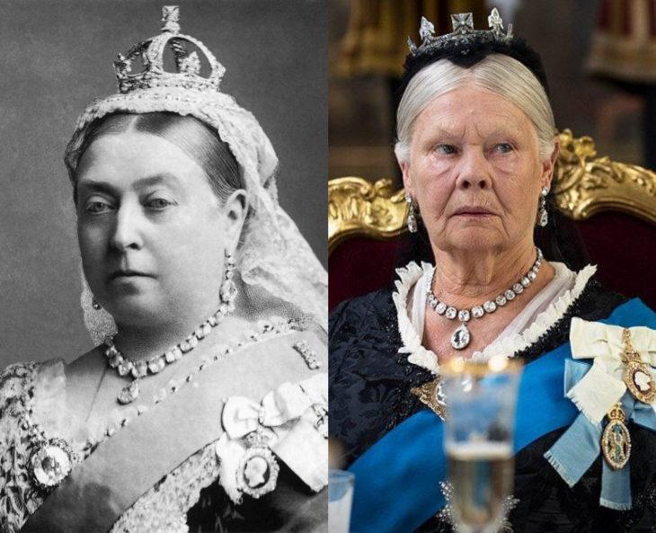 Mujeres en la historia en películas y en la vida real; Victoria del Reino Unido, Judi Dench