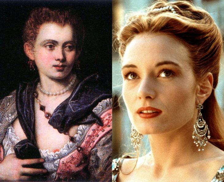 Mujeres en la historia en películas y en la vida real; Verónica Franco, Catherine McCormack