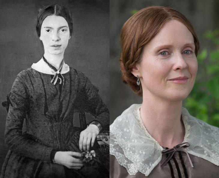 Mujeres en la historia en películas y en la vida real; Emily Dickinson, Cynthia Nixon