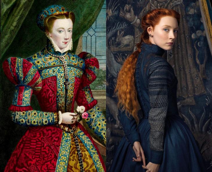 Mujeres en la historia en películas y en la vida real; María I de Escocia, Saoirse Ronan
