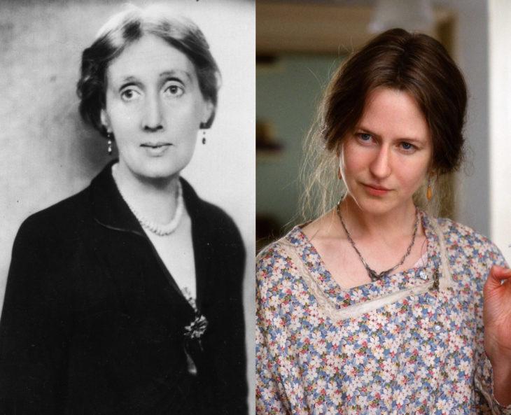 Mujeres en la historia en películas y en la vida real; Virginia Woolf, Nicole Kidman