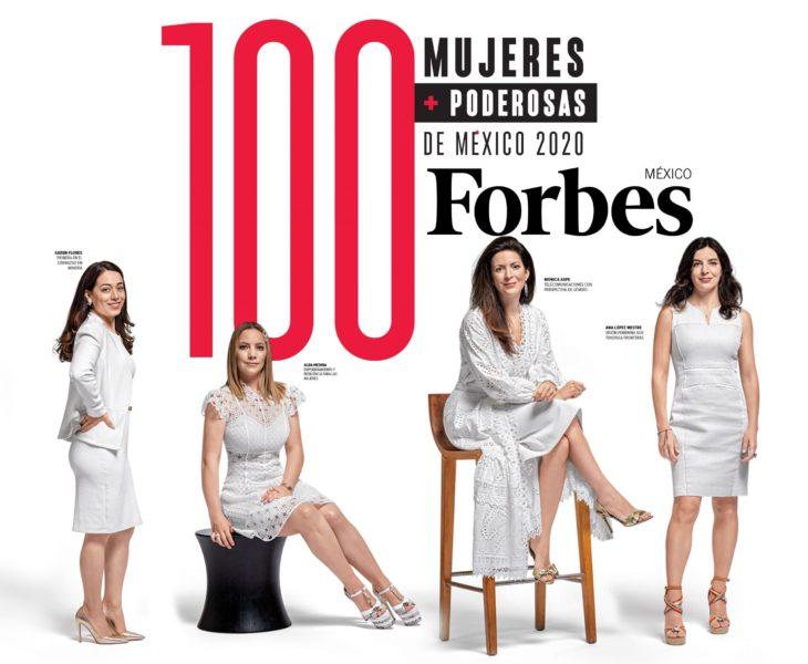 Portada de la revista Forbes, de mujeres poderosas