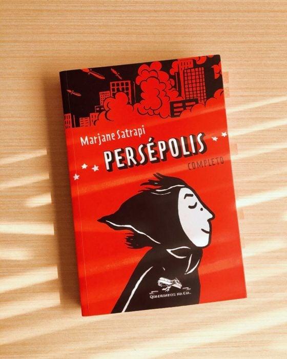 Libro Persépolis de Marjane Satrapi
