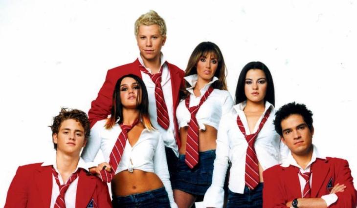 Elenco de Rebelde, en 2004