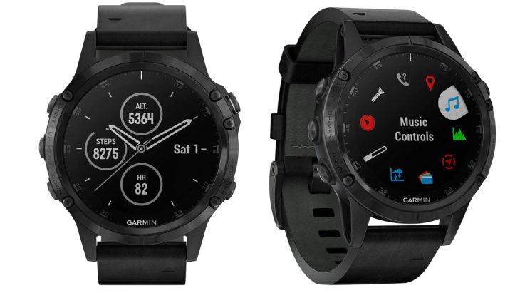 Reloj Garmin Fénix 5 Plus en color negro que puedes comprar en Liverpool