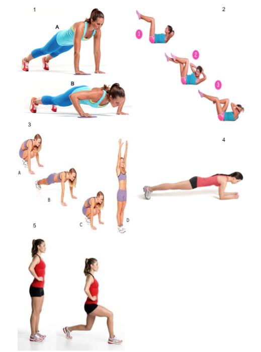 Rutina de ejercicio para los días más ocupados