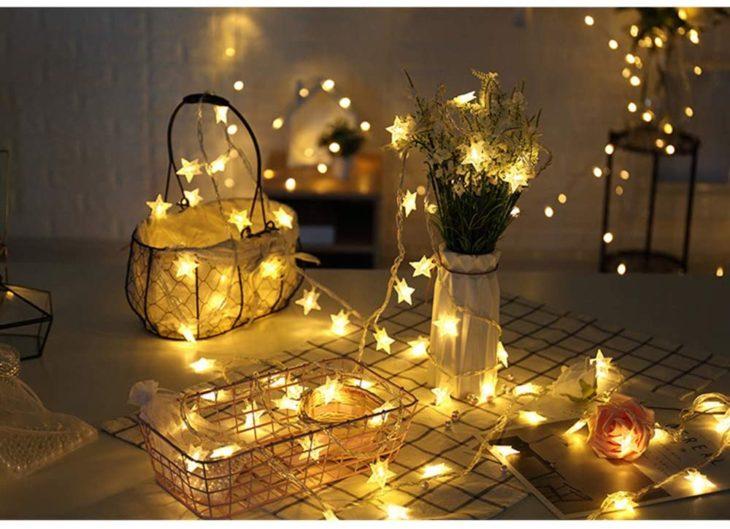 Serie de luces para decoración