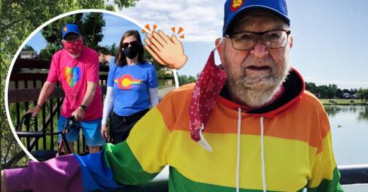 Conoce a Kenneth Felts, el abuelito de 90 años que salió del clóset