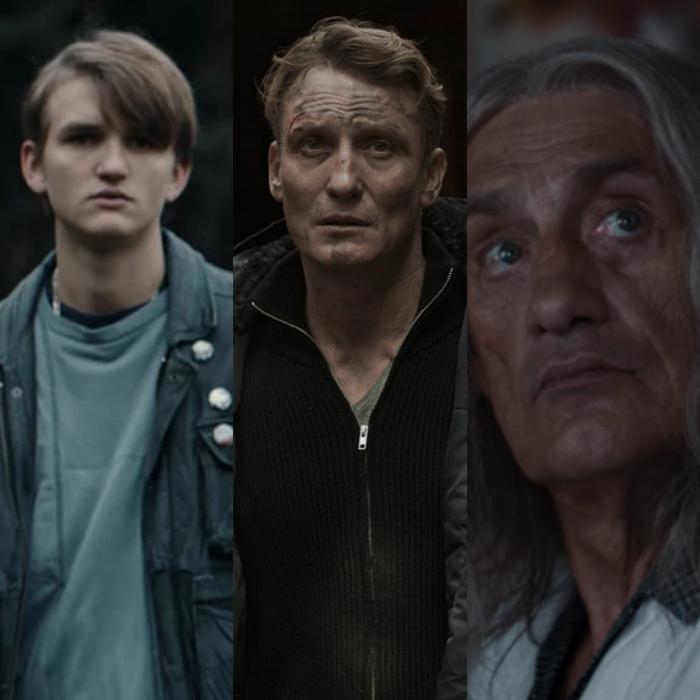 Ludger Bökelmann y Oliver Masucci interpretan las versiones más jóvenes del actor Winfried Glatzeder