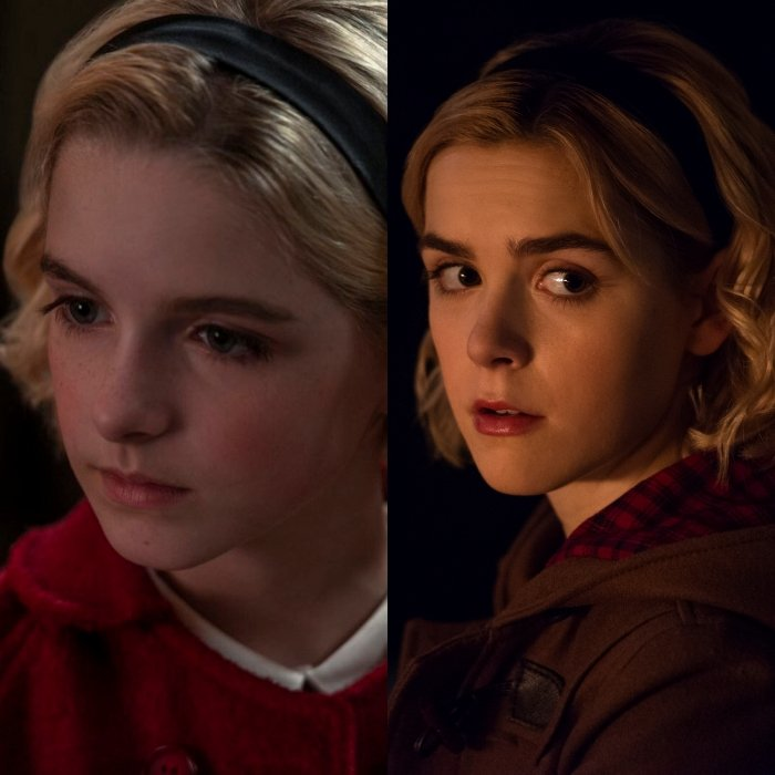 McKenna Grace interpreta la versión más joven de la actriz Kiernan Shipka
