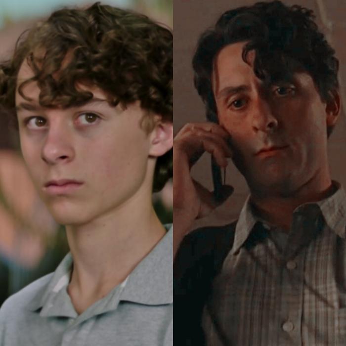 Wyatt Oleff interpreta la versión joven del actor Andy Bean