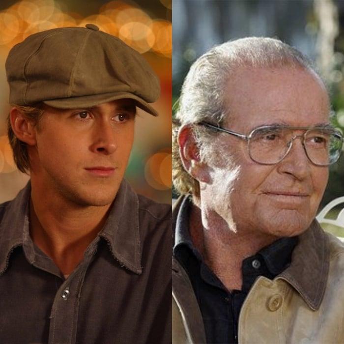 Ryan Gosling interpreta la versión más joven del actor James Garner