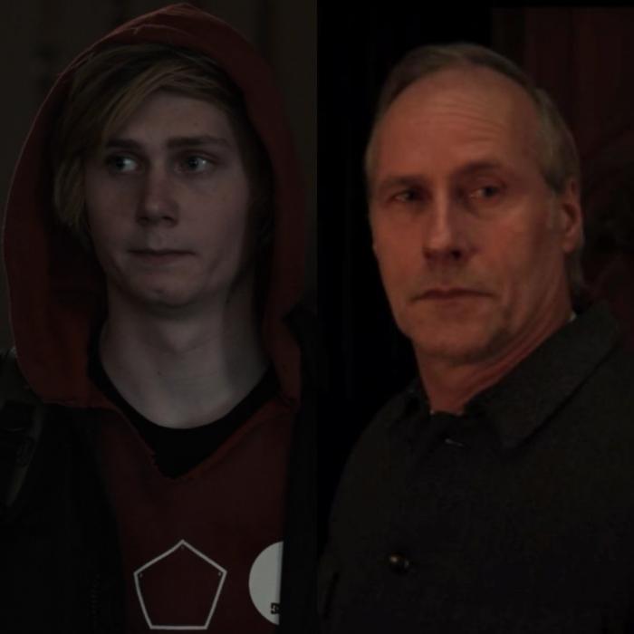 Moritz Jahn interpreta la versión más joven del actor Wolfram Koch