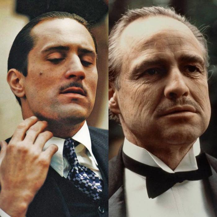 Robert De Niro interpreta la versión joven del actor Marlon Brando