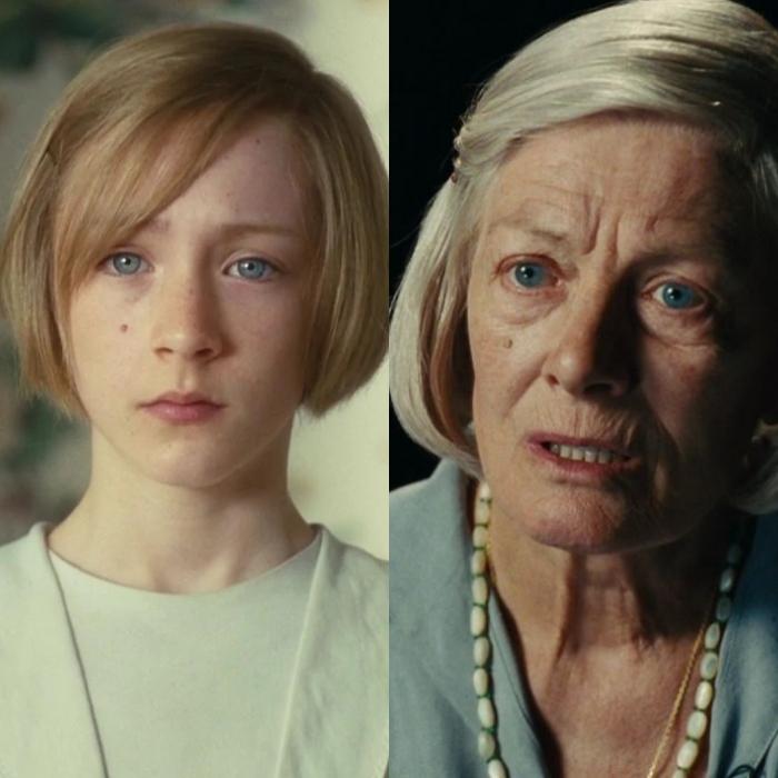 Saoirse Ronan interpreta la versión más joven de la actriz Vanessa Redgrave