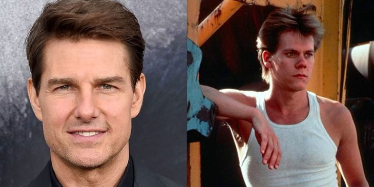 Tom Cruise y Kevin Bacon