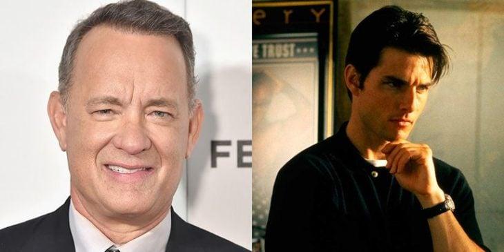 Tom Hanks y Tom Cruise