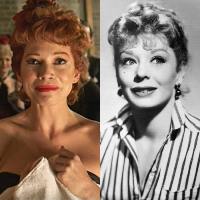 actriz michelle williams como gwen verdon