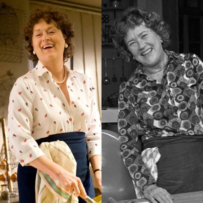 meryl streep como julia child en julie and julia