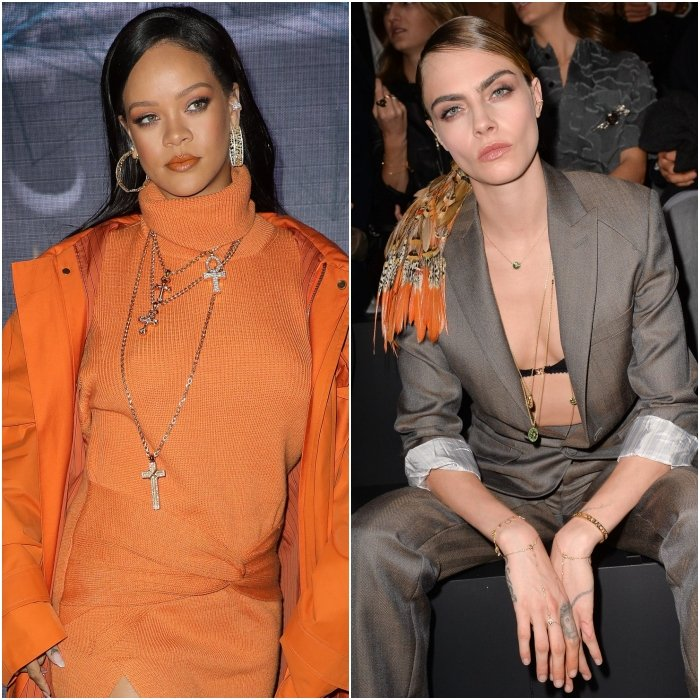 Rihanna y Cara Delevingne