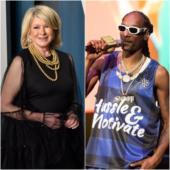 martha stewart y snoop dogg