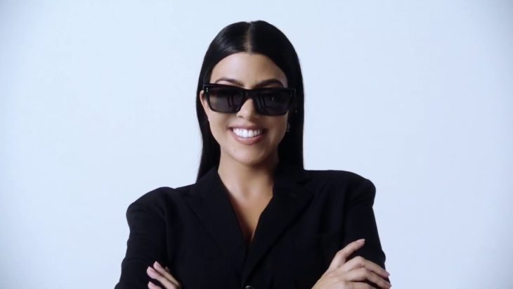 la celebridad kourtney kardashian