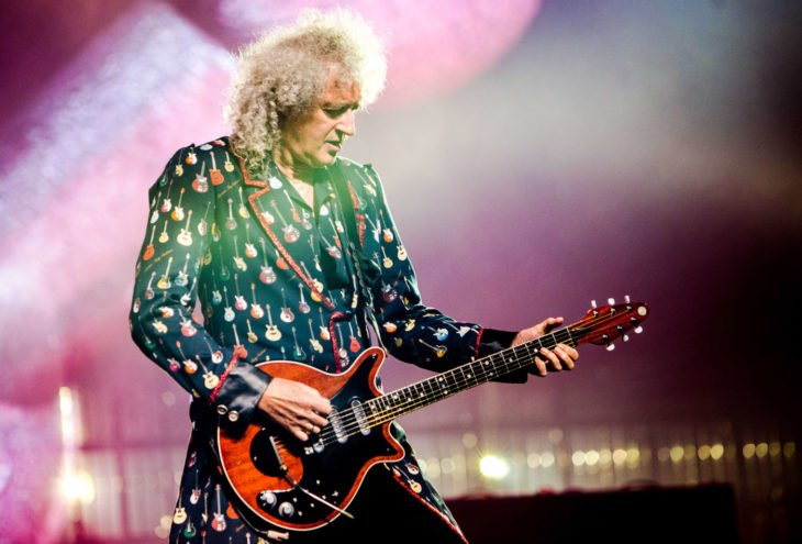 musico y guitarrista de la banda Queen, Brian May