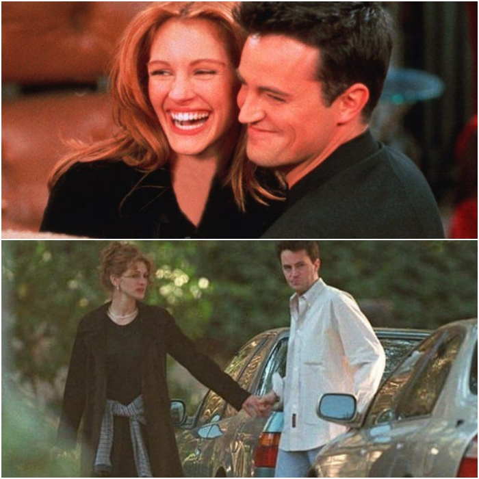 Julia Roberts y Matthew Perry
