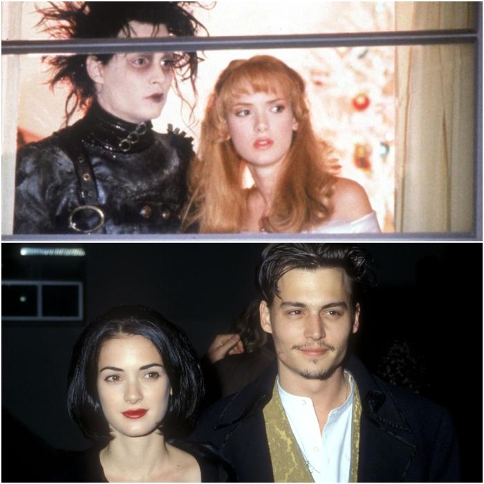 Winona Ryder y Johnny Depp