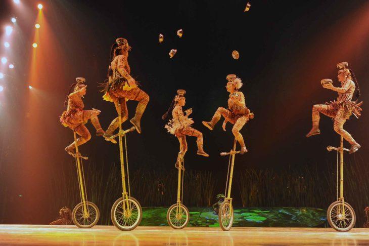 imagenes del show del cirque du soleil