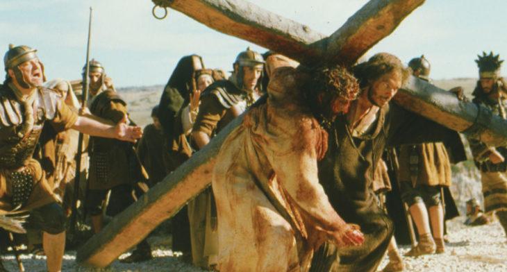 escena de la pasión de cristo