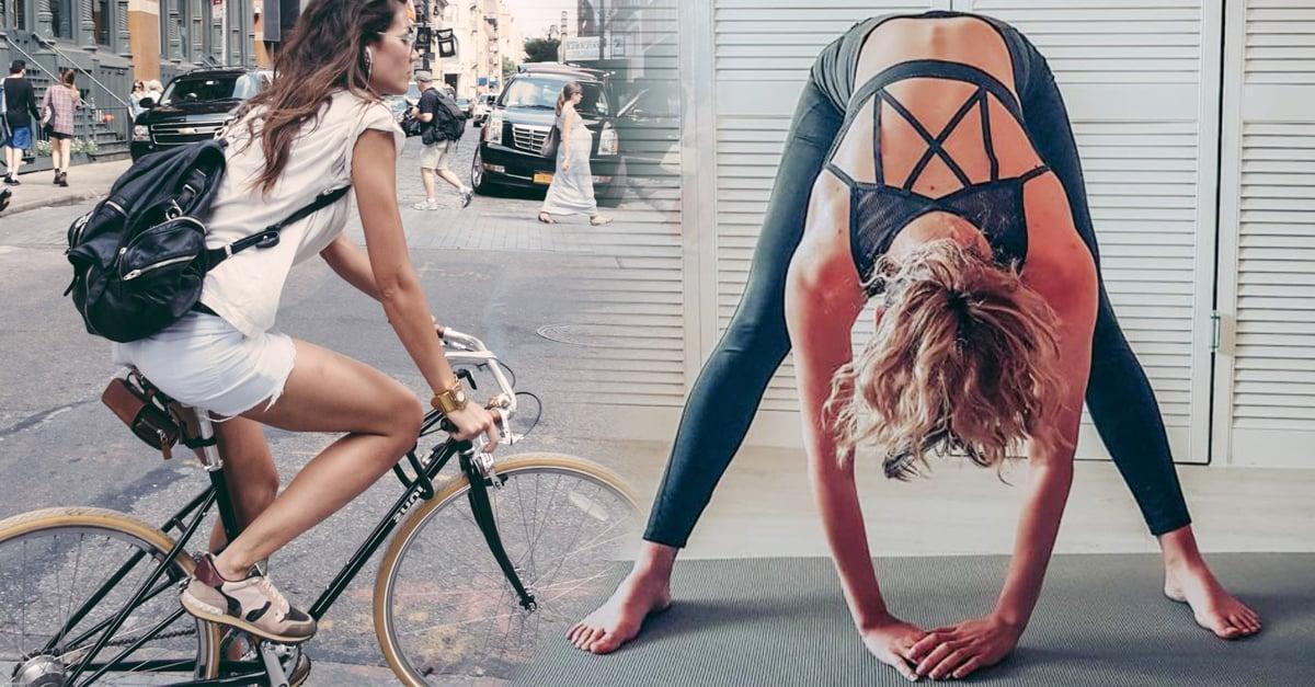Toma un 'break' del ejercicio físico y relájate