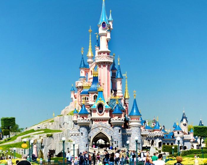 Castillo Disneyland Paris