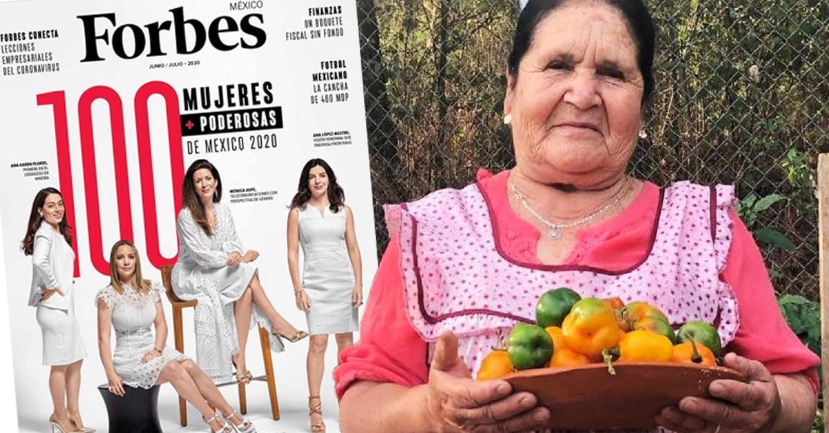 Doña Ángela es incluida a la lista de las 100 mujeres más poderosas de 2020