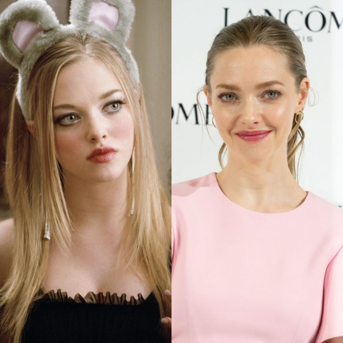 actriz amanda seyfried como karen smith en chicas pesadas