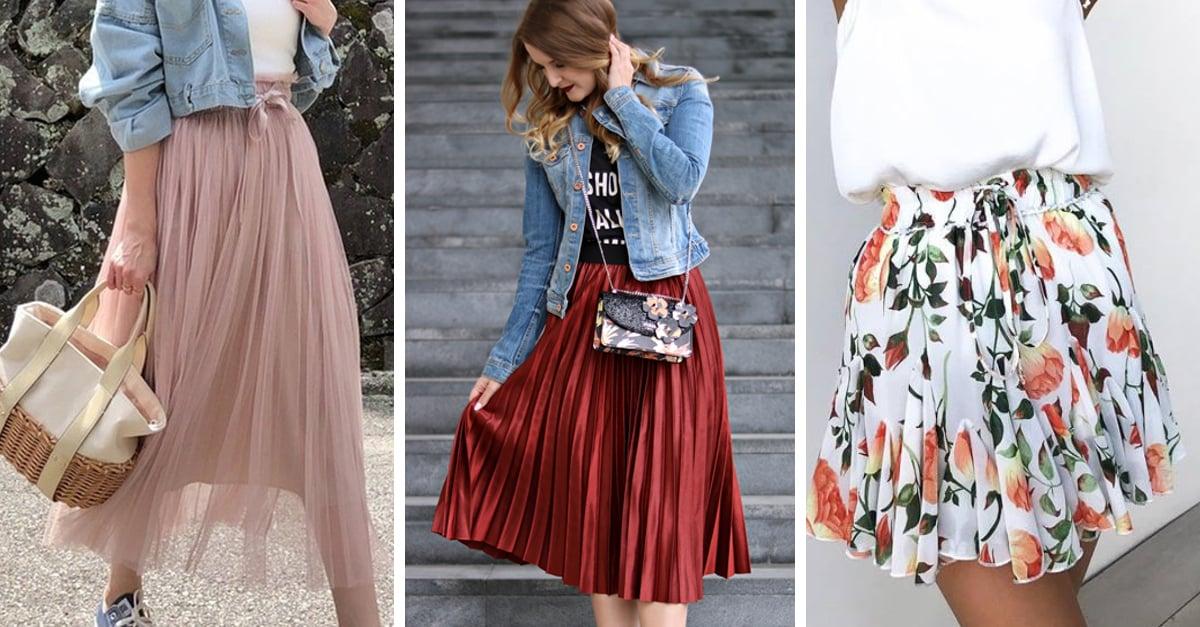 15 Faldas ideales para disfrutar del verano