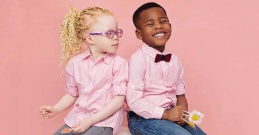 Así es la historia de los gemelos que nacieron con diferentes tonos de piel