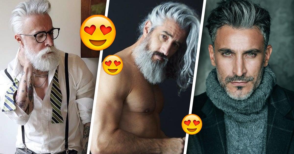 14 Hombres de cabellera plateada que serán tu nuevo crush
