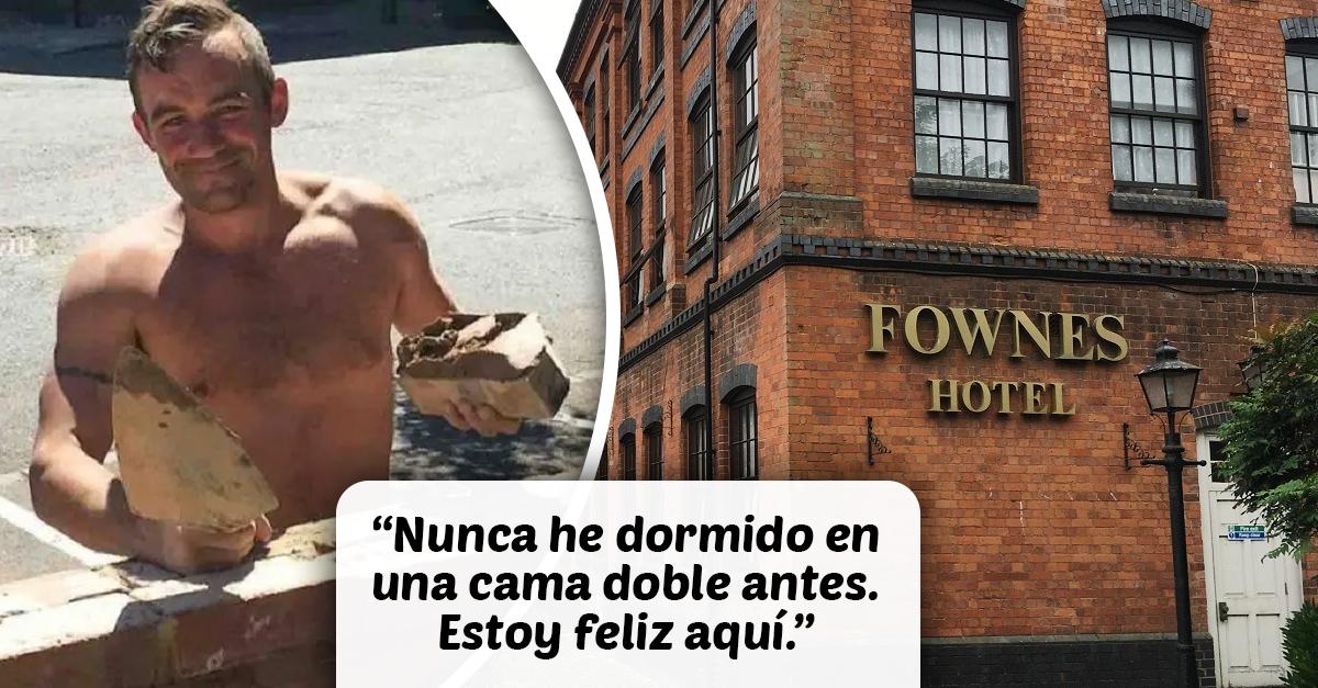 Hotel de lujo da hospedaje a personas sin hogar ante pandemia