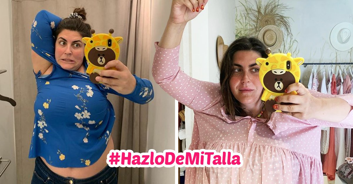 Mujer crea el movimiento #MakeMySize para recordar que las mujeres vienen en diferentes tallas