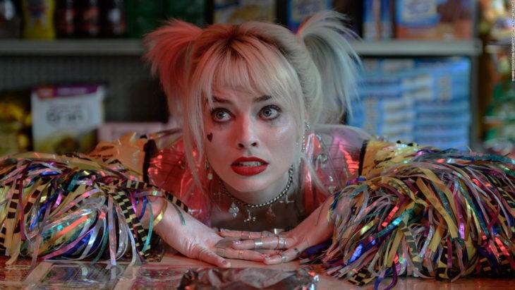 actriz australiana margot robbie como harley quinn