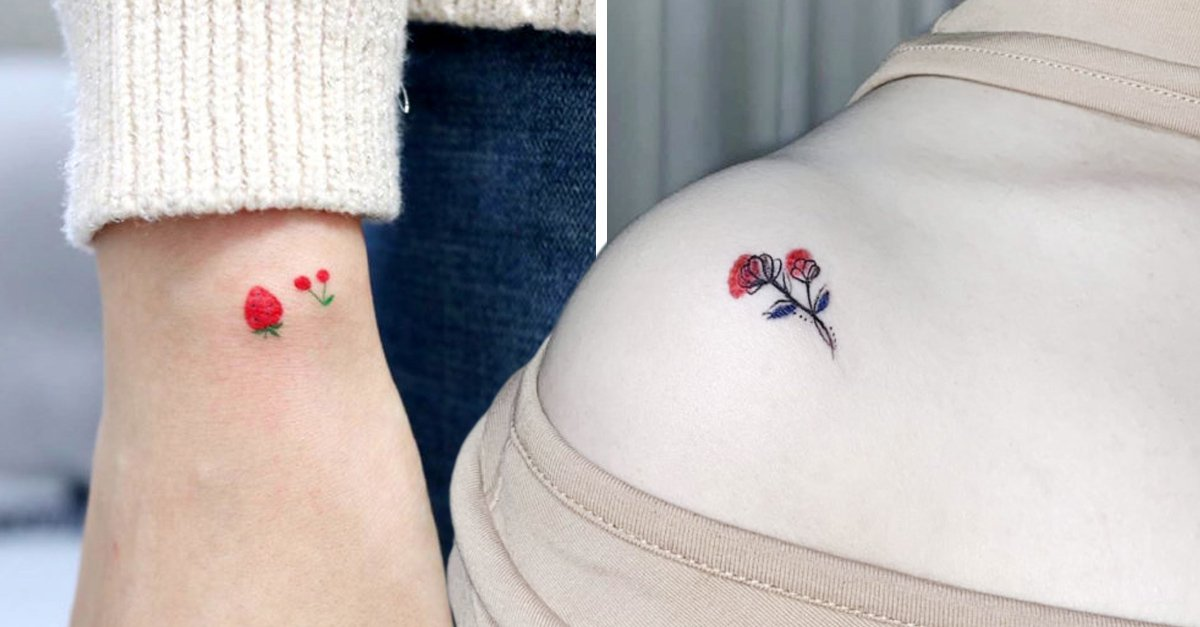 25 Tatuajes pequeñitos y tiernos que son perfectos para las primerizas
