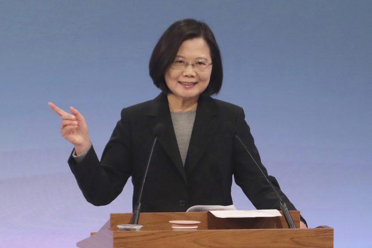 tsai ing-wen lider de taiwan pais libre de coronavirus