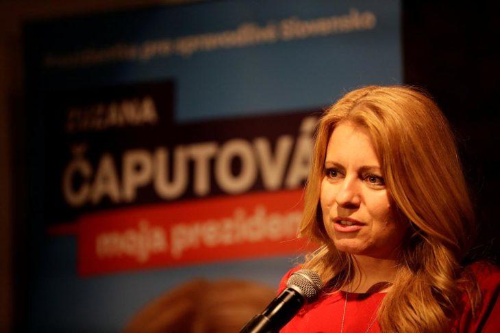 Zuzana Čaputová presidenta de Eslovaquia