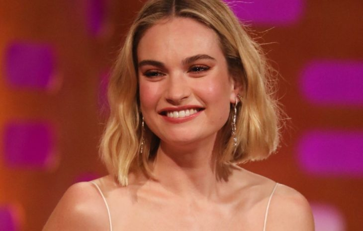 actriz lily james es lily thompson