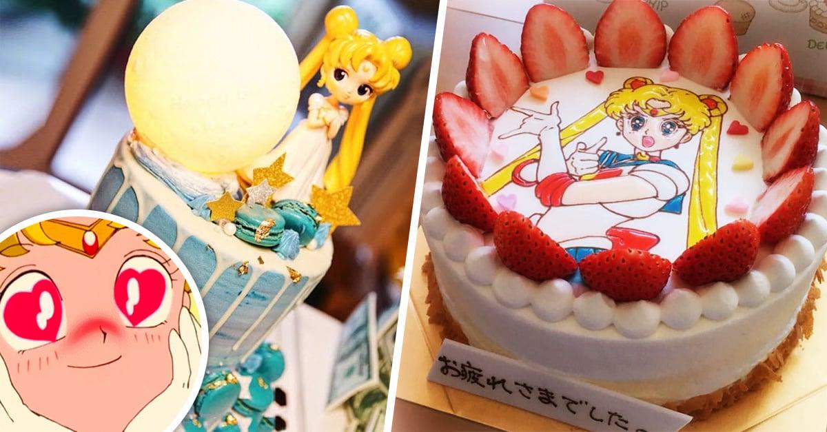 Los 15 pasteles más bonitos inspirados en Sailor Moon