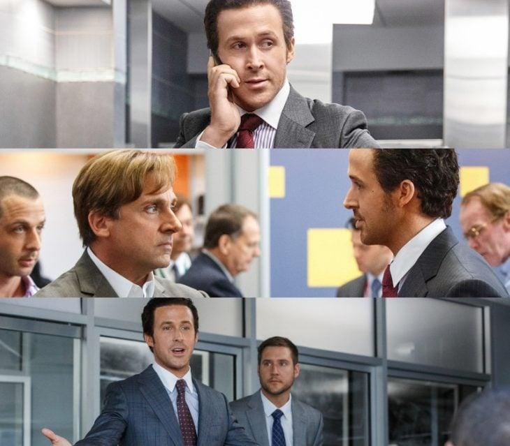 escenas de la pelicula the big shot con ryan gosling 2015